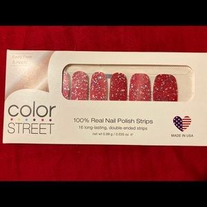 "RETIRED ""American Cheer"" Color Street Nail Strips"